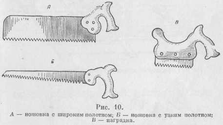 ножовки для ульев